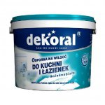Dekoral - latex paint for bathrooms and kitchen