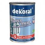 Dekoral - chlorinated rubber enamel Strong chlorinated rubber