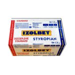 Isolbet - foamed polystyrene board Insulation Standard 044